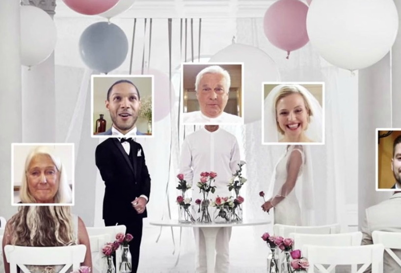 You can now totally get hitched online. Thanks, IKEA!
