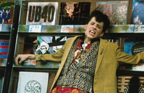 Jon Cryer reenacts the best scene from 'Pretty in Pink.' Swoon.