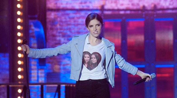 Behold the power, the glory, the prowess of Anna Kendrick on 'Lip Sync Battle'