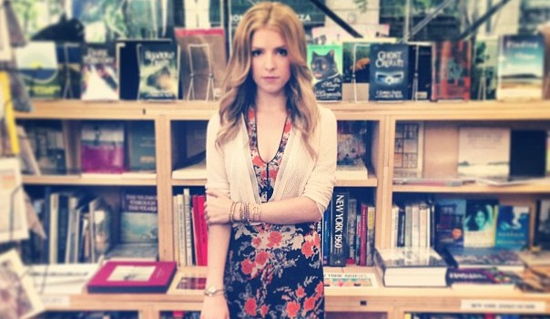 Oh, happy day! Anna Kendrick is writing a book!
