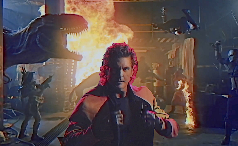 Nightmares From Youtube: David Hasselhoff's new music video is BANANAS