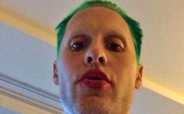 Jared Leto's Joker is already freaking us out