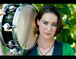 Currently obsessed with Emilio Estevez' kickass drummer daughter, Paloma