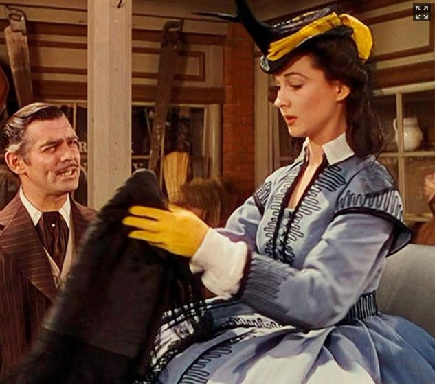 "One of Scarlett O'Hara's dresses from ""Gone With The Wind"" just sold for $137,000 dollars"