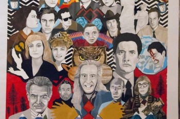 Here's some gorgeous 'Twin Peaks' fan art to put your eyes on