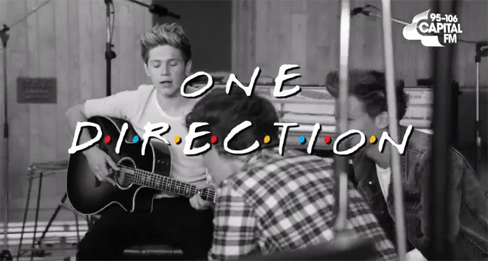 This One Direction/'Friends' mashup is everything