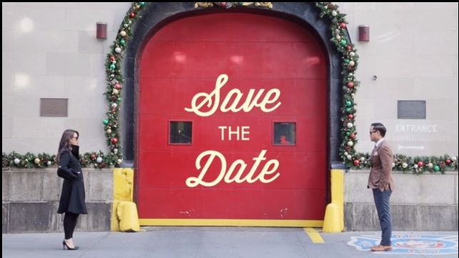 OK, so this is the coolest 'save the date' we've ever seen
