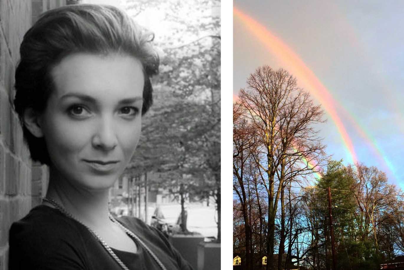 Meet the 27-year-old fashion CEO who took the quadruple rainbow photo