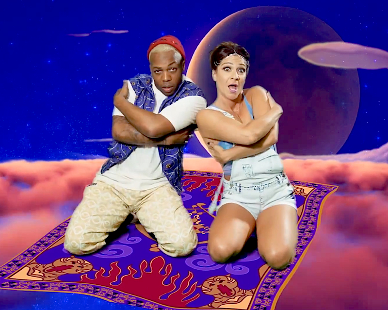 Todrick Hall and Shoshana Bean remix classic Disney songs into '90s jams!