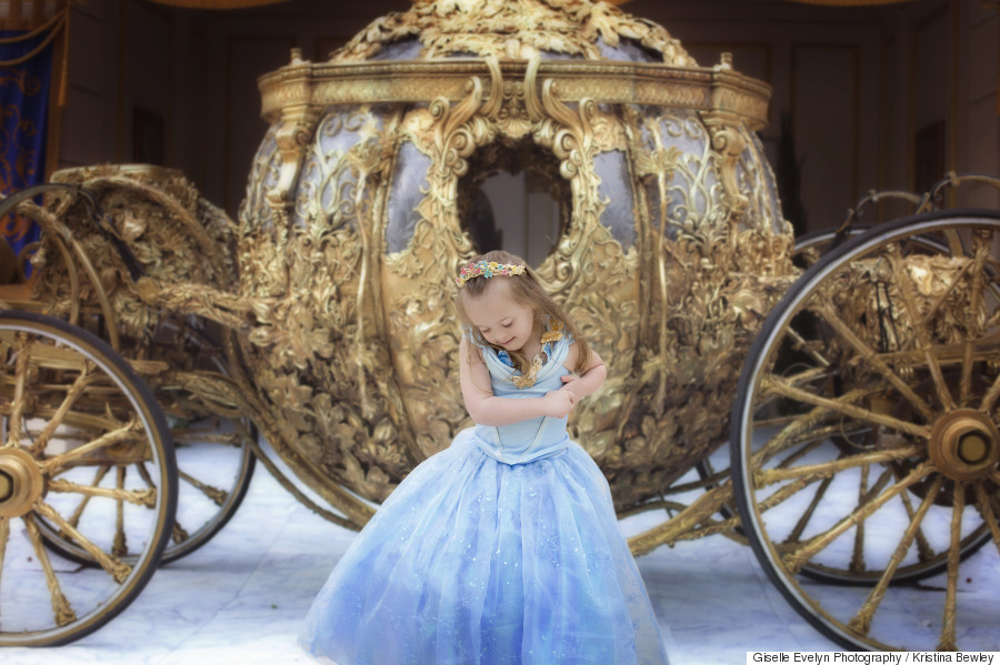This little girl is our new favorite Disney princess