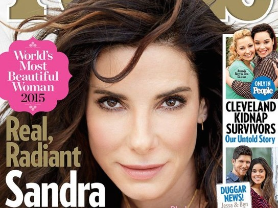 "People's ""most beautiful woman"" Sandra Bullock puts beauty in perspective"
