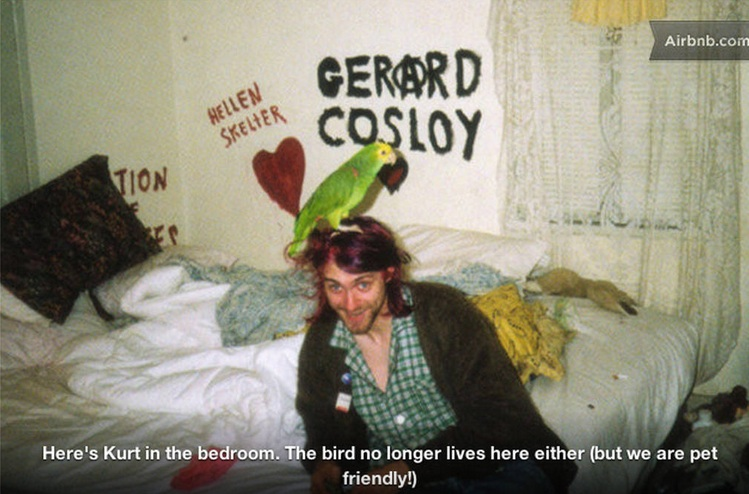 FYI: You can now AirBnb Kurt Cobain and Courtney Love's old apartment