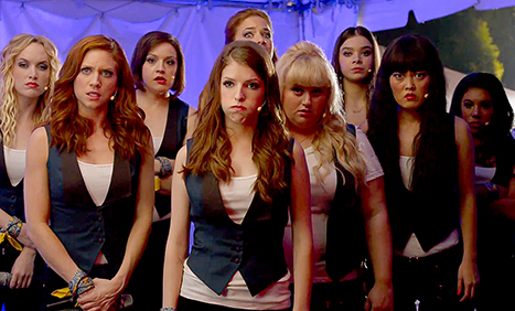 And here's the latest girl-powered 'Pitch Perfect 2' clip