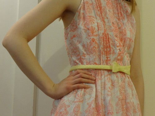 Here's the perfect DIY bow belt for all your spring dresses