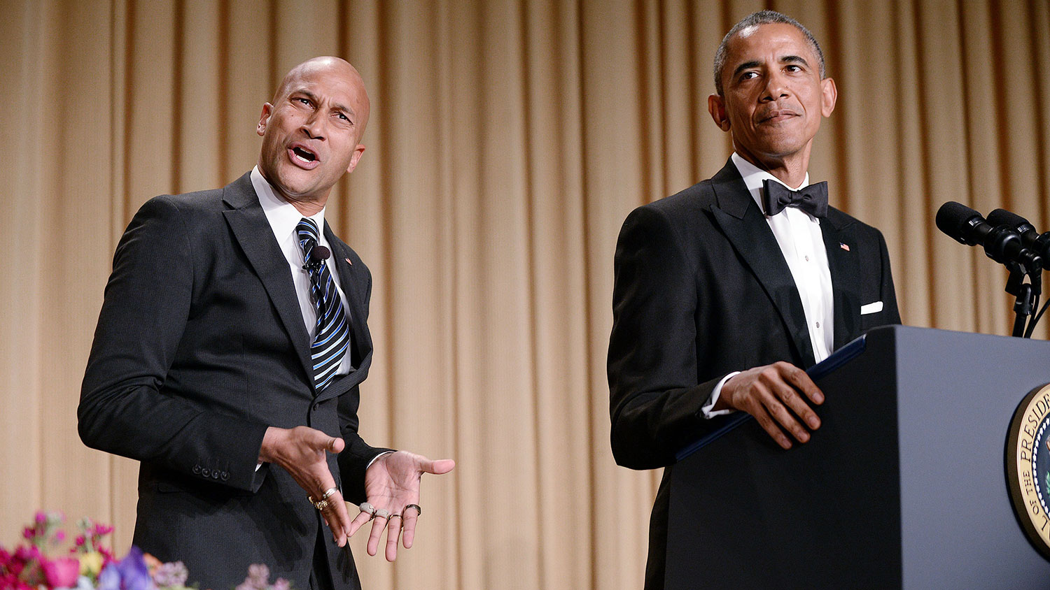 "Obama amazingly plays himself in the Key and Peele ""Anger Translator"" sketch"