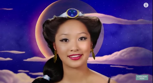 Watch one woman transform into 7 different Disney Princesses instantly