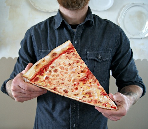 Warning: This pizza wall hanging might just make you hangry