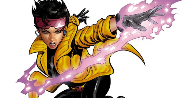 We got our first glimpse at kickass 'X-Men' ladyhero, Jubilee