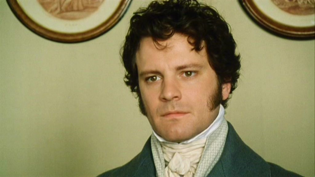 Be still our hearts! Mr. Darcy might be real