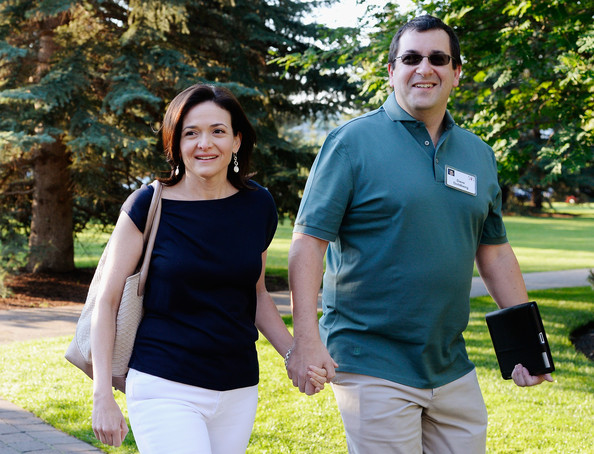 Our hearts go out to Sheryl Sandberg