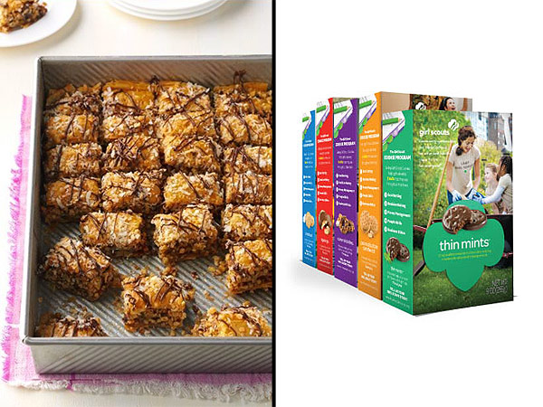 We're drooling over the winning treats from the National Girl Scout Cookie Recipe Contest