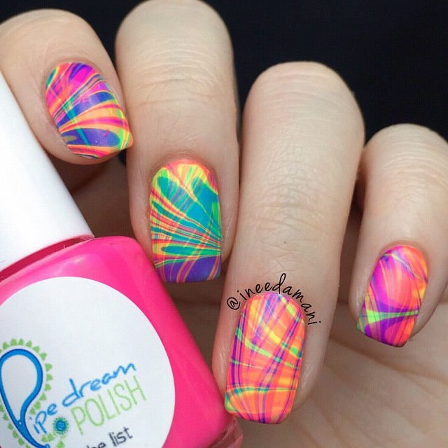 Nails of the Day: Psychedelic power