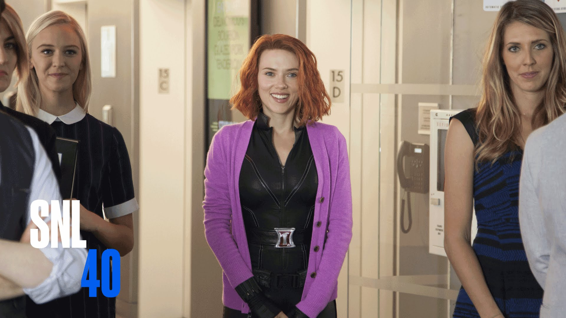 'SNL' imagines what a Black Widow rom-com would look like and it's the realest
