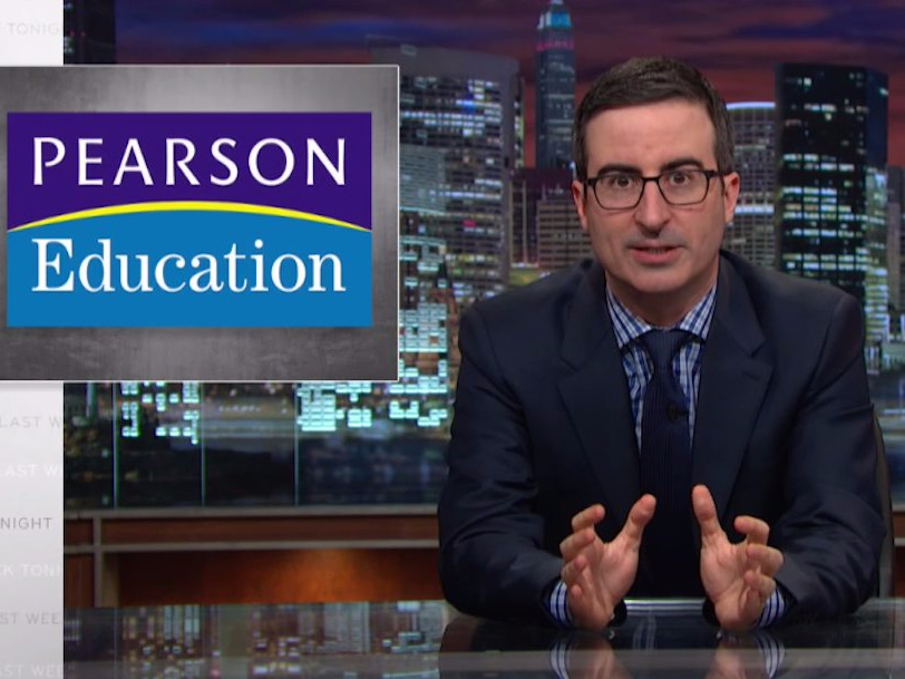 John Oliver brilliantly takes down standardized testing on 'Last Week Tonight'