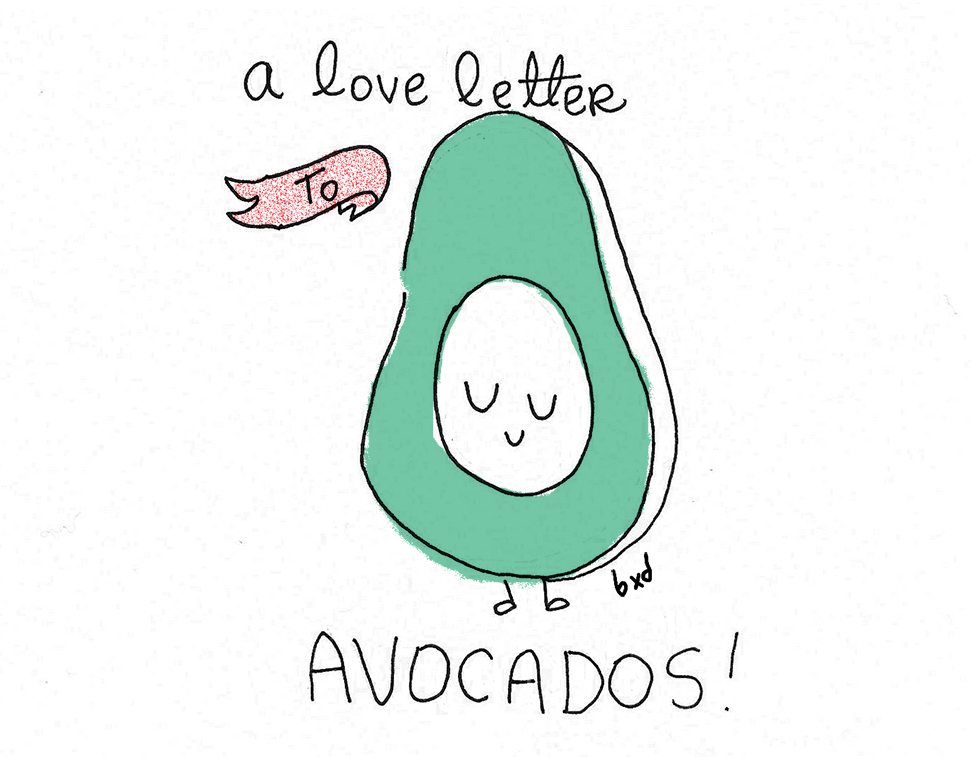 A love letter to avocados