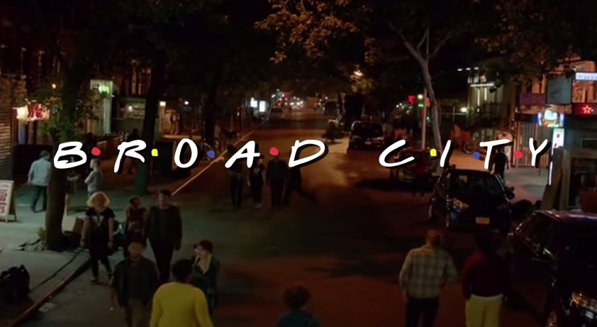 'Broad City' meets 'Friends'—thanks to the Internet mash-up gods