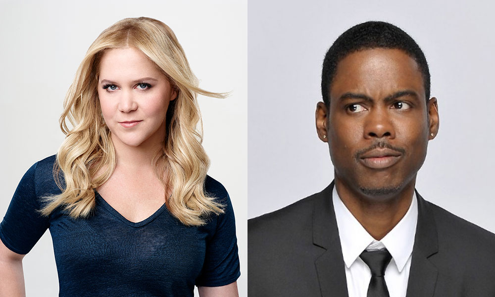 Amy Schumer + Chris Rock = New comedy dream team