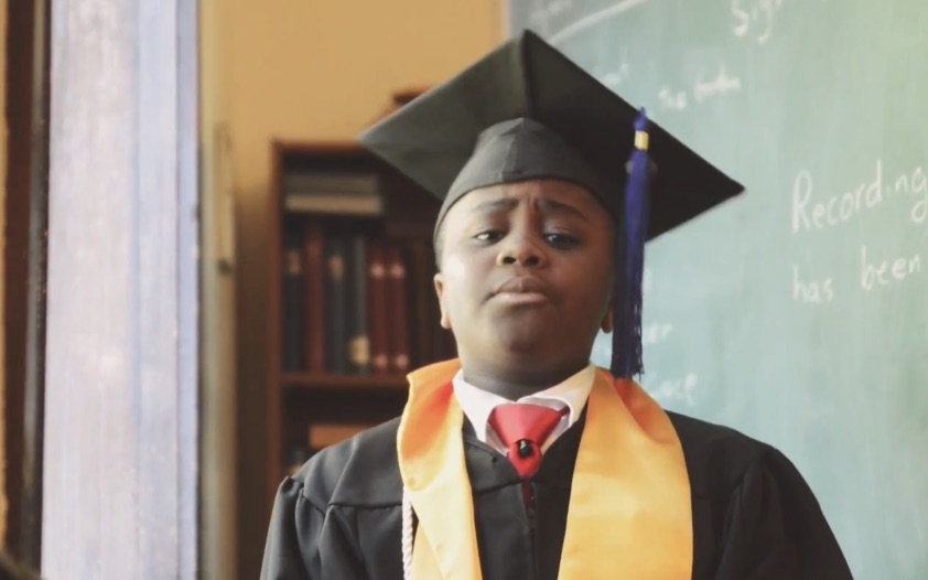 Ahem! Kid President has an important message for grads