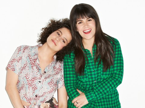 Broad City's Abbi and Ilana are working on a top-secret movie project