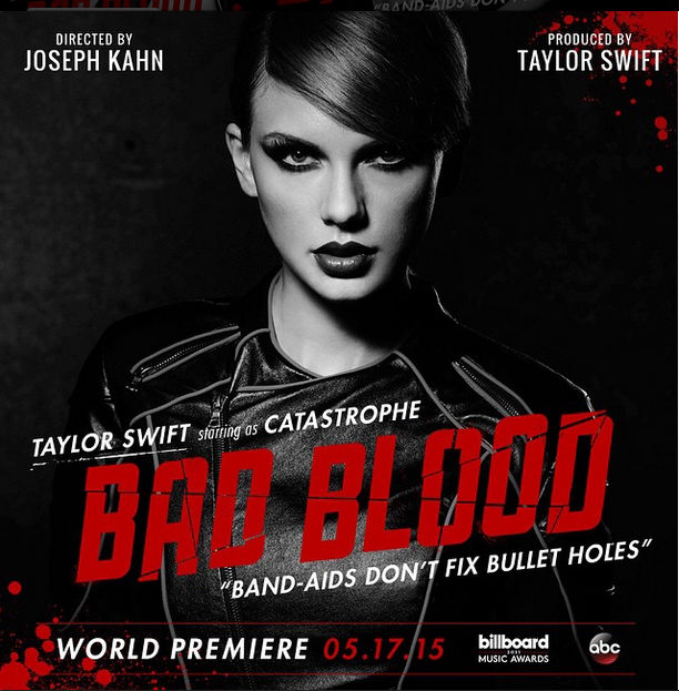 "The new posters for Taylor Swift's ""Bad Blood"" video have us freaking out"