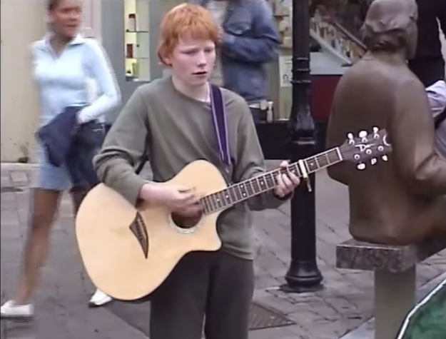 "Ed Sheeran's ""Photograph"" video is a home movie montage and it'll melt your heart"