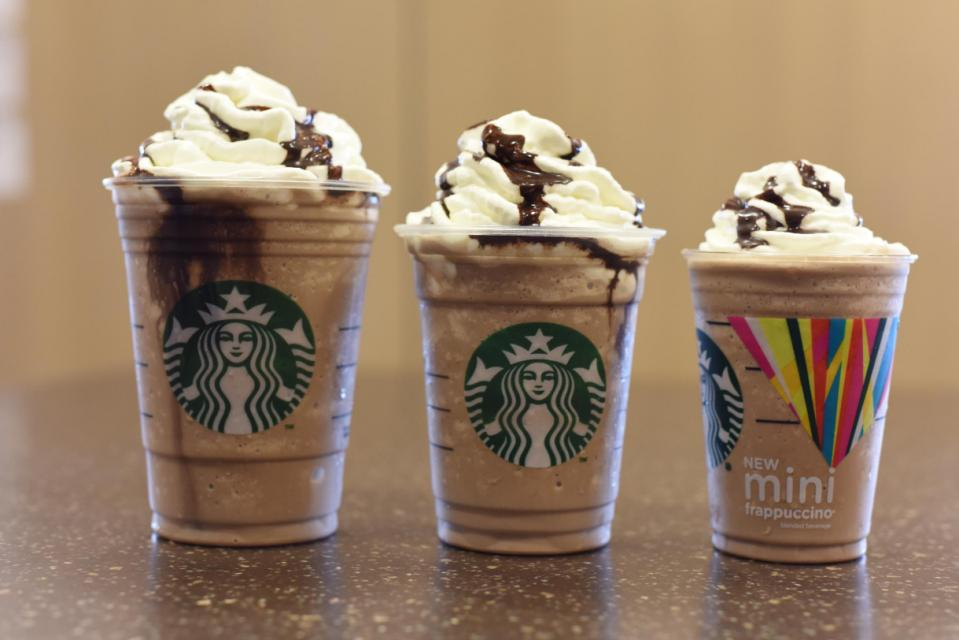 Starbucks just made our summer with the mini Frappuccino