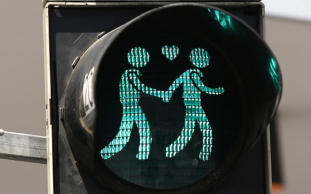 This traffic light is huge step for LGBT equality