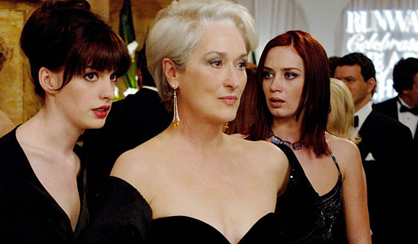 'The Devil Wears Prada' is going to be a musical. Yes, please.