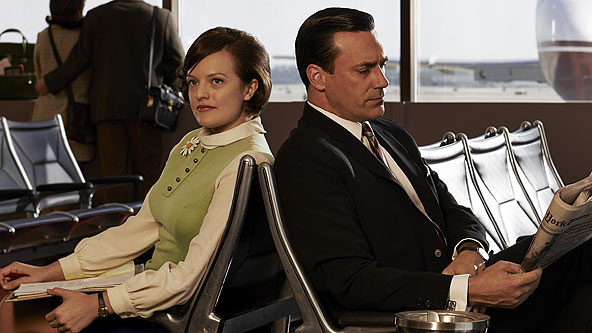 The wildest thing is happening during the 'Mad Men' finale