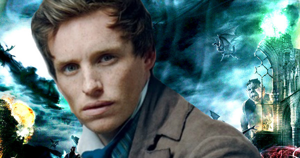 Eddie Redmayne may star in the 'Harry Potter' spin-off trilogy. Time to freak out.