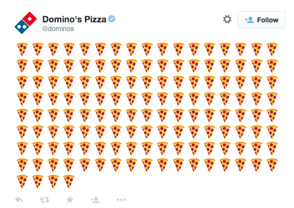 You can now order pizza on Twitter, because evolution