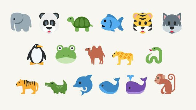 Endangered animal emojis = your most adorable good deed of the day