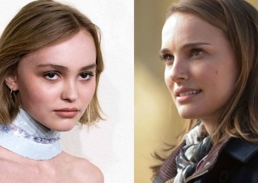 Johnny Depp's daughter and Natalie Portman were just cast as sisters. We can totally see it.