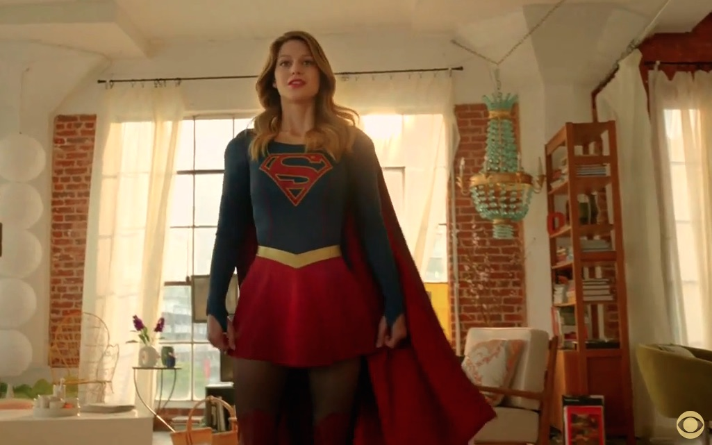 It's here! We've got a 'Supergirl' first look!