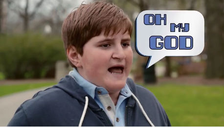 Remember Brody the Bar Mitzvah boy? He's back.