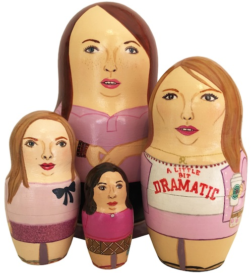 These 'Mean Girls' nesting dolls are totally fetch