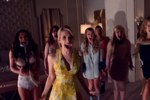 The first full-length 'Scream Queens' trailer is here—and it's killer