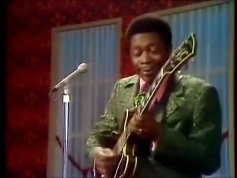 We are watching this B.B. King performance of 'The Thrill is Gone' on repeat all day