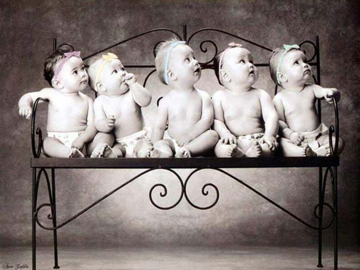 I was an only child—and then my parents had quintuplets