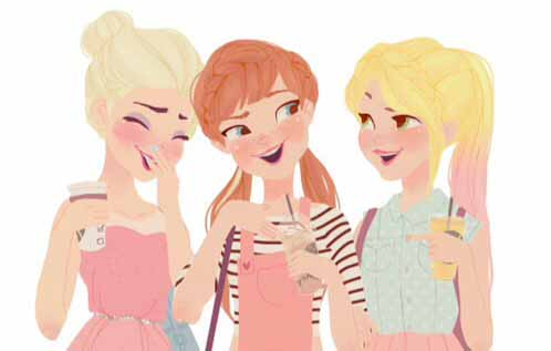 Here's what Disney Princesses would look like in the latest school fashion